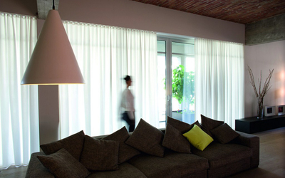 Interieur Marina - Raamdecoratie